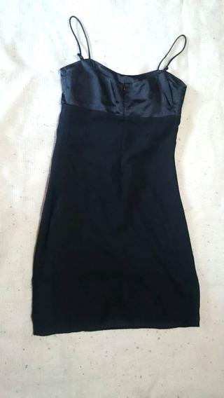 Vestido Negro Para Mujer Talle M Nuevo