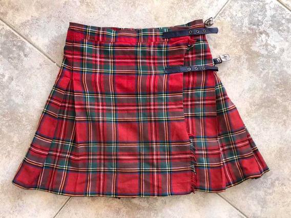 Pollera Escocesa Talle 6 (colegio San Lucas) Impecable!