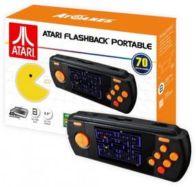 Console Atari Flashback Portable Tela 2.8 Deluxe Jogos 70