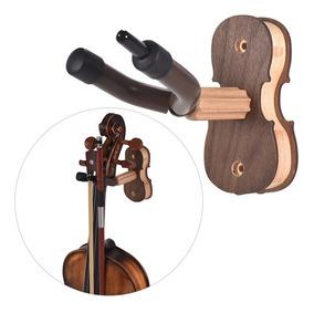 Parede Monte Violino Violino Viola Cabide Gancho Guardador C