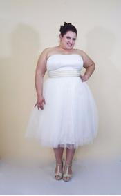 Vestidos de novia civil alquiler