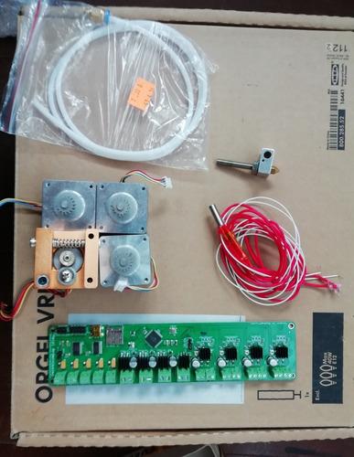 Imagen 1 de 1 de Kit Impresora 3d, Tarjeta Melzi, 4 Steppers, Extrusor-hotend