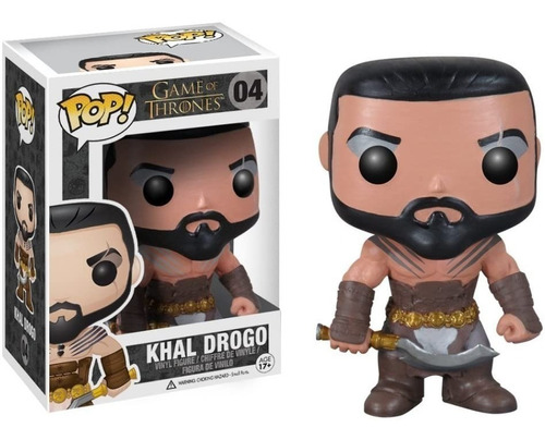 Funko Pop! Khal Drogo #04 Game Of Thrones