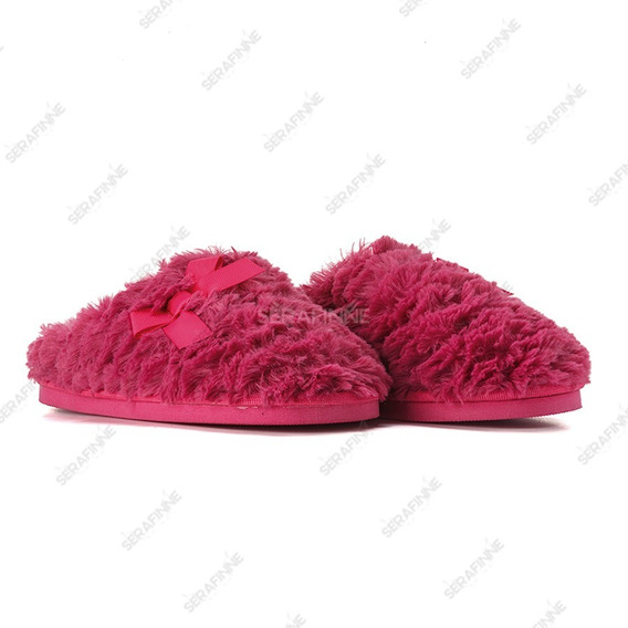 Pantuflas Importada Mujer Corderito Ivierno Soft Gummi