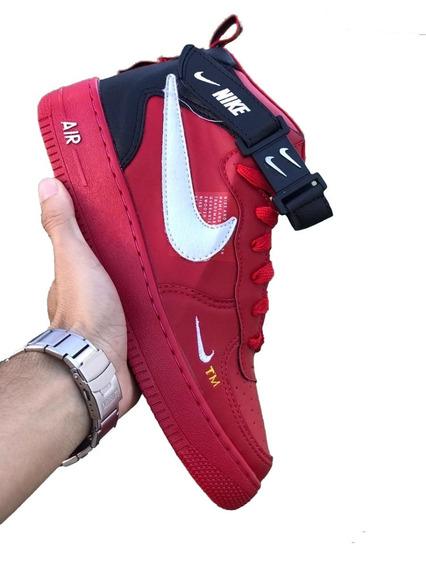 Tenis Bota Botinha Nike Air Force Cano Alto Frete Gratis