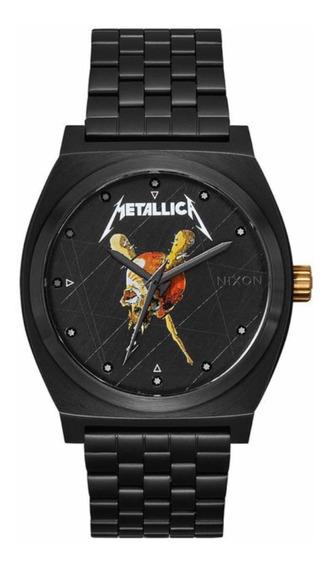 Relógio Nixon Time Teller - Metallica 37mm - Importado