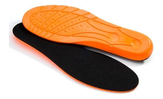 Palmilha Gel Anti-impacto Bota Tenis Sapato 35 A 45 02 Pares