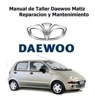 Manual De Reparación Daewoo Matiz Con Diagramas