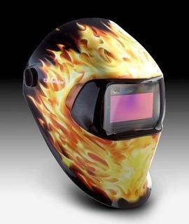 Máscara Para Soldar Fotosensible 3m Speedglass 100v Llamas