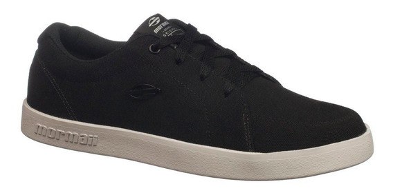 Tênis Mormaii Kick Canvas Skateboarding Preto