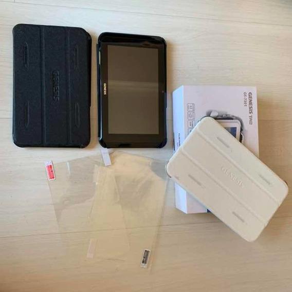 03 Tablets Genesis Tab Gt-7301 (um Branco E Dois Pretos)