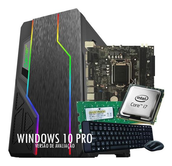 Computador Core I7 + 8 Gb Ram + Ssd 240gb + Brinde, Garantia
