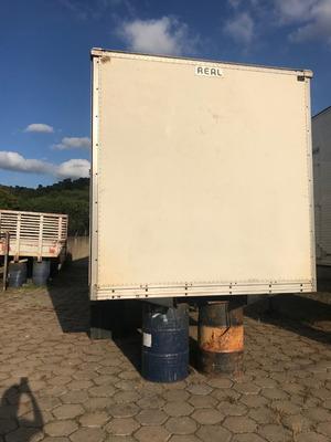 Bau Truck Marca Real, Cor Branco, Carga Seca