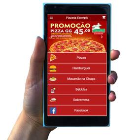 Aplicativo Completo Para Pizzaria/delivery/marmitex/açaí