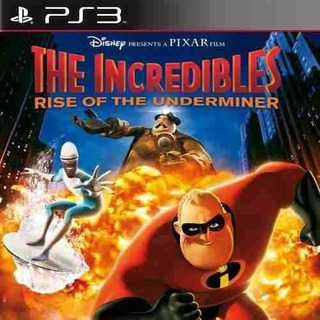 Os Incriveis 2 Rise Of The Underminer - Jogos Ps3