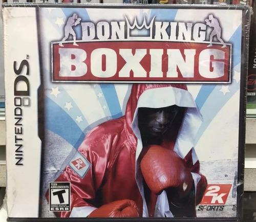 Juego Nintendo Ds Don King Boxing Nuevo Sellado Orig Replay