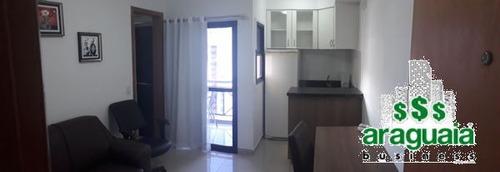 Imagem 1 de 9 de Apartamento Flat Com 1 Quarto No Cristal Place - Araguaia1710-l