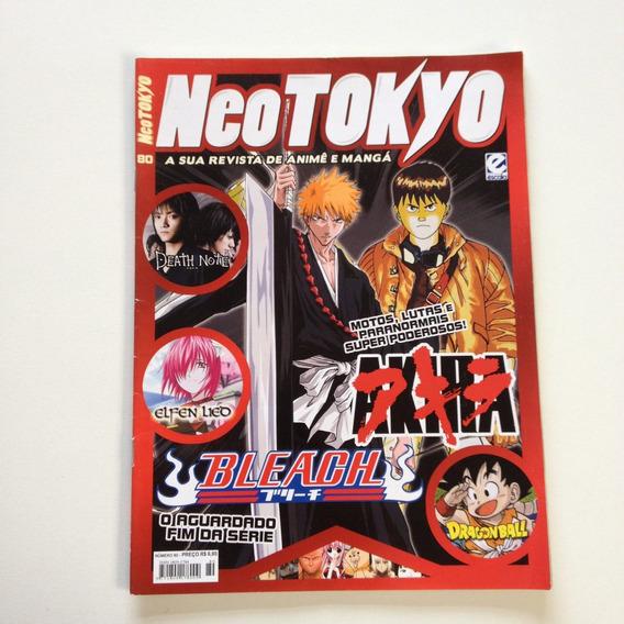 Revista Neo Tokyo Bleach Akira Death Note Elfen Lieo N°80