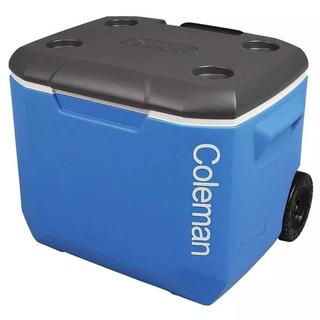 Caixa Térmica Com Rodas 60 Qt 56,7 Litros Coleman