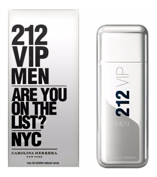 Perfume 212 Vip Men Carolina Herrera 100ml Edt + Brinde