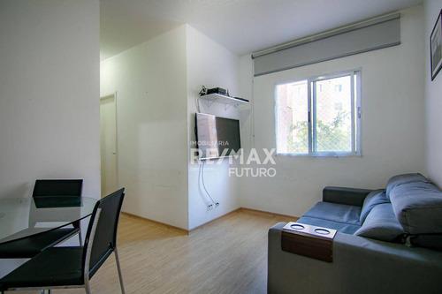 Apartamento Com 2 Dormitórios À Venda, 51 M² Por R$ 154.999 - Residencial Vida Plena - Jardim Petrópolis - Cotia/sp - Ap0036
