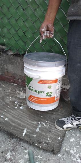 Impermeabilizante Elaston 12 Años Plus Triple Accion Blanco!
