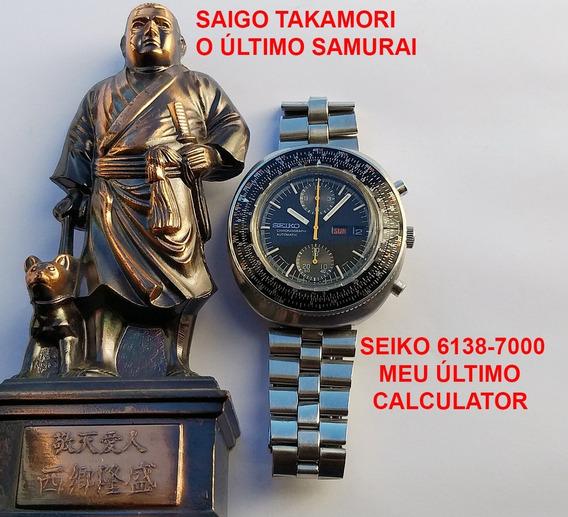 Cronógrafo Seiko Calculator 6138-7000 De 1973 De Museu