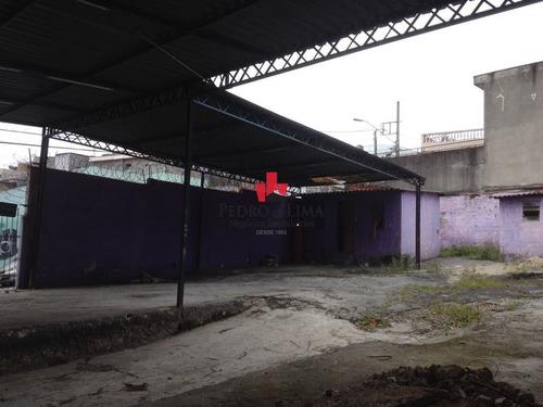 Imagem 1 de 5 de Terreno De Esquina Com 323 M², Na Vila Jacuí. - Pe22507