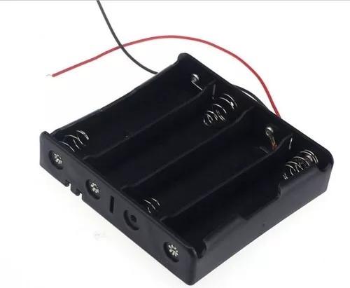 Suporte Para 4 Baterias 18650 ( Kit Com 3 Suportes )