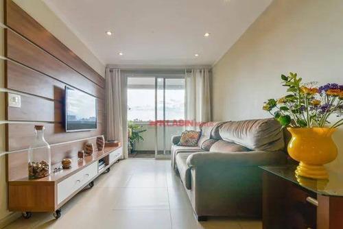#=apartamento Com 3 Quartos E 2 Banheiros À Venda, 84 M² Por R$ 769.000 - Ap10265