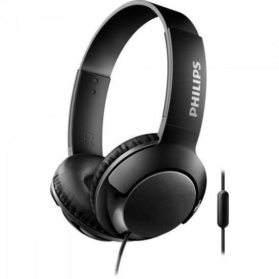Fone De Ouvido Supra Auricular Philips Shl3075 C/ Microfone