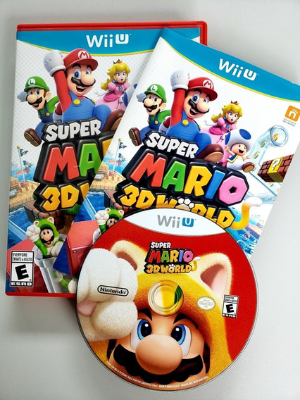 Mario 3d Land Original Wii U Nintendo