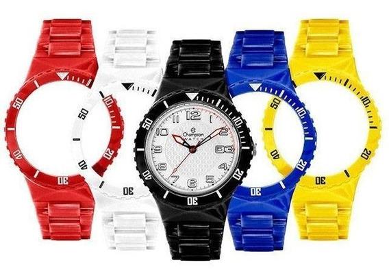 Relógio Troca Pulseira Unissex Retrô Vintage Barato Oferta