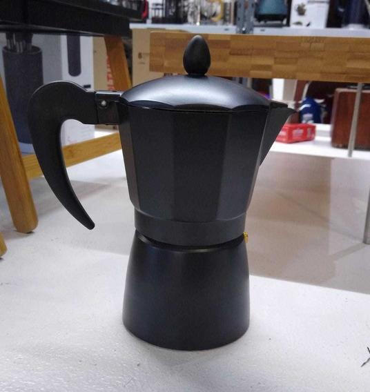 Cafetera Express Tipo Italiana Black 9 Pocillos Café Palermo