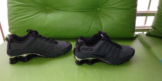 Tênis Nike Shox Nz Original - Cinza Escuro