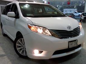 Toyota Sienna Factura De Agencia Un Dueño Todo Pagado