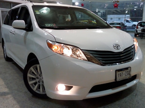 Toyota Sienna 3.5 Xle V6/ Qc Facturaagencia Un Dueño Todo Pa