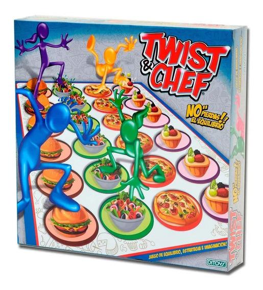 Twist & Cheff Juego De Mesa Original Ditoys