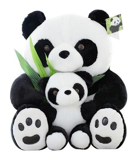 Urso Panda Pelúcia 25cm Pronta Entrega