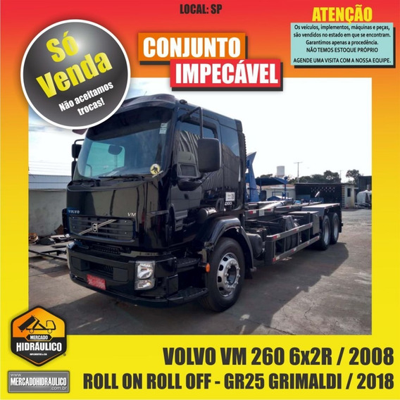 Volvo Vm 260 6x2r / 2008 - Roll On Roll Off Grimaldi / 2018