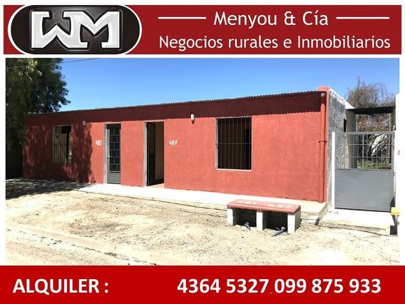 Alquiler Casa Trinidad Flores 2 Dormitorio A Estrenar Patio