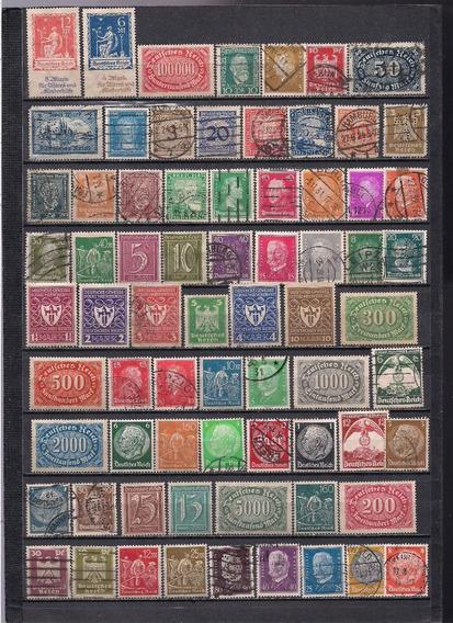 Alemania Reich: Lote De Estampillas 1921-1935