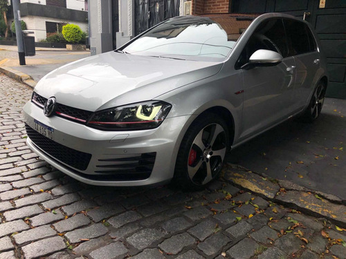 Volkswagen Golf 2016 2.0 Gti Tsi App Connect + Cuero