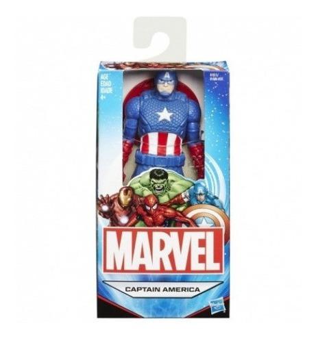 Imagem 1 de 3 de Marvel-avengers Figura 15 Cm Captain America B1686 Original