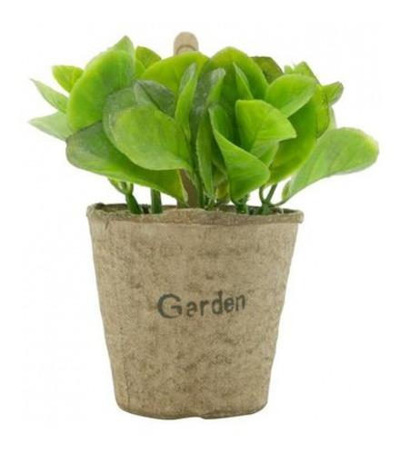 Imagem 1 de 2 de Vasos Papel Decorativos Pequenos Bean Leaves 13 Cm Urban