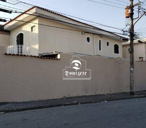 Sobrado Com 4 Dormitórios À Venda, 178 M² Por R$ 650.000,00 - Jardim Do Estádio - Santo André/sp - So3570