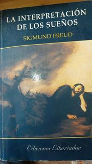 Libro La Interpretacion De Los Sueños De Sigmund Freud