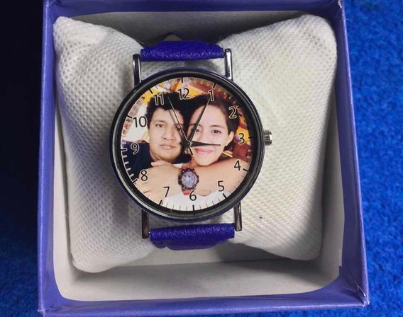 Reloj Personalizado -envia Tu Foto- Pareja