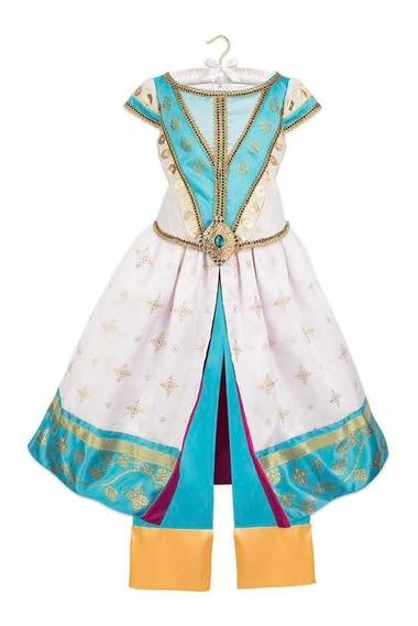 Vestido Jazmin Original Disney Store! Live Action Talla 5/6!