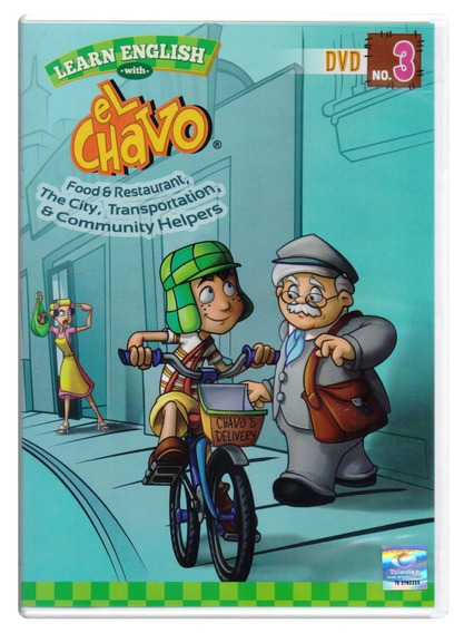 Aprende Ingles Con El Chavo Learn English Vol 3 Dvd